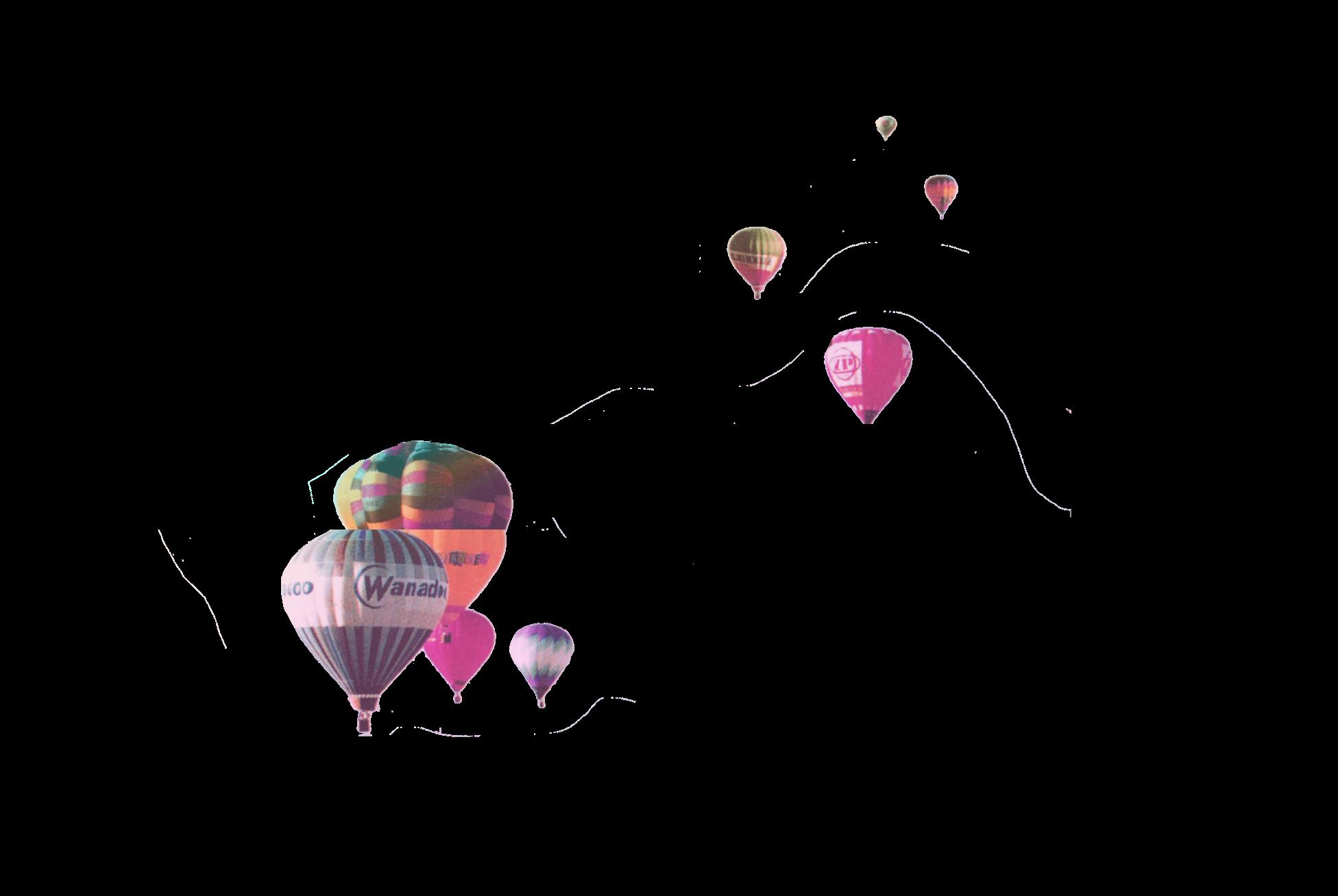 Bild på Luftballonger